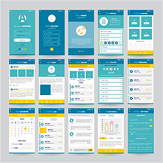 Design Template Vector (14컷)